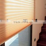 Cordless Up Down Pleated Blinds
