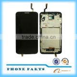 Hot original for lg g2 d802 lcd digitzier assembly with frame and battery from alibaba China