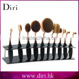 New product Oval Makeup Brushes Acrylic Display Holder Stand