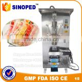 SINOPED factory price automatic liquid filling machine / water sachet packing machine / milk pouch packaging machine