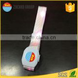 Custom RFID Programmable Remote Controlled LED Flashing Bracelet