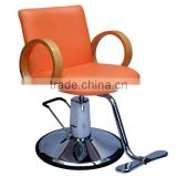 Round Base Modern Hydraulic barber chair hair cutting chairs with pedal wholesale barber supplies F-A06