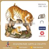 10X5.5X11 Inch Resin Lifelike Home and Garden Decoration Animal Sculpture Tiger Statue