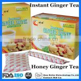 Hot Sale Instant Honey Ginger Tea, Herbal Ginger Tea with Honey, Organic Slimming Ginger Tea