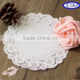 High Quality Round White Lace Paper Doilies