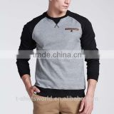 Heavyweight Fleece Fitted Raglan Crewneck Sweatshirt