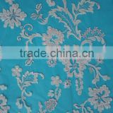 Newest indian embroidery laser chemical lace fabric