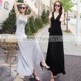 Z&M Sexy tight conjoined shorts jumpsuit women clothing set ladies for women 2017 women long dress
