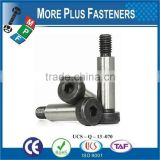 Made In Taiwan Hardened Steel Smooth Head Stainless Steel Socket Shoulder Bolt
