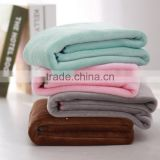 super soft minky flannel fleece all seasons customized bed sheet cover throw home use fluffy heavy thick polyester blanket