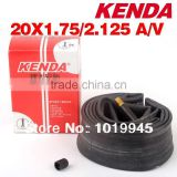 20*1.75-2.125 A / V Kenda Inner Tube Bicycle Cycling Bike Tire Tube Bike Tyre Bicycle Tube 02626