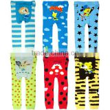 cartoon design baby tights pants