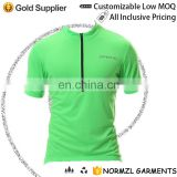 Customizd wholesale Basics Men's Short Sleeve Cycling Jersey - Bike Biking Shirt cycling wear