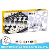New design antique international black and white luxury chess sets