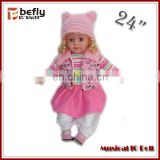 Wholesale music fairy baby doll