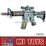 Wholesale safe kids toy gun with real sounds and light