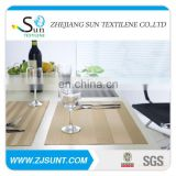 natural bamboo luxury placemats golden