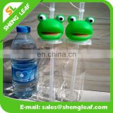 New design plastic customized logo drinking water bottle