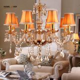 Modern crystal chandelier K9 crystal 110~240V lustres de cristal chandelier for living room Kitchen light Lamp