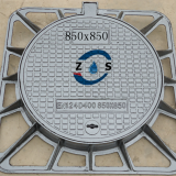 850x850x80mm ductile iron manhole cover,