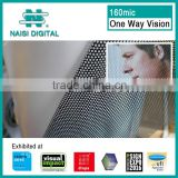 160mic window covering one way vision plastic film for advertising                                                                         Quality Choice
