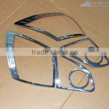 Chrome tail lamp cover for Nissan Qashqai 2008