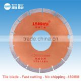 7''-180mm Professional Manufacturer Sharpening Diamond Cutting Discs for Tile Ceramics