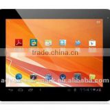 9.7'' IPS, Android 4.0 , 1G DDR III , 16GB Flash , 1024 x 768 , ALLWINNER A10: ARM Cortex-A8 + HD video codec Tablet PC
