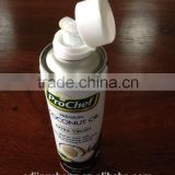 refillable aerosol can / food grade tin can with plastic caps wholesaler China