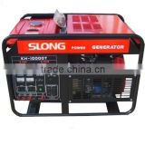 AC single phase or three phase 8500w gasoline generator portable key start with wheel kit