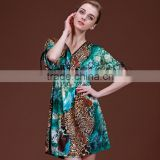 Sexy Women Silk Satin Pajamas Nightdress Nightskirt Lingerie Sleepwear