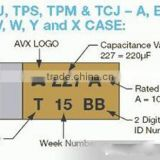 Top level&dependable performance SMD capacitor 0603 50V 10% 393K 39nF and 50V 5% 102J 1nF