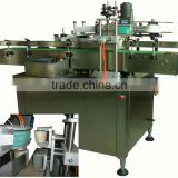 High- precision front, back and neck labeling machine