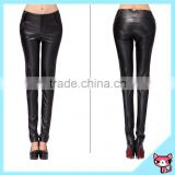 American Style OEM Black Women Leather Pants