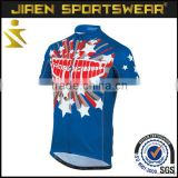 China top quatity sublimation quick dry customized polyester specialized team club bicycle clothing cycling jersey