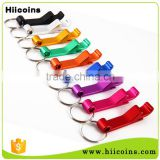 Customized Logo Cheap Colorful Beer Can Bottle Opener Keychain
