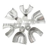 dental impression stainless steel trays autoclavable