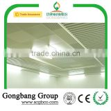 Fireproof Aluminum Baffle Ceilings Materials Used For False Ceiling