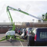 Construction building lifting equipment self-propelled articulated boom lift