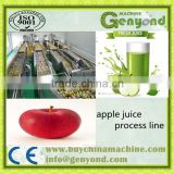 Automatic fruit juice processing line used for orange / mango / apple juice