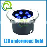 Outdoor 304# stainless steel IP67 rgb led underground light,led underground lamp                                                                         Quality Choice