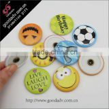 25-75mm Promotional gift badge magnet tin button                                                                         Quality Choice