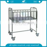 AG-CB005 hospital stainless steel frame medical baby cot with good price