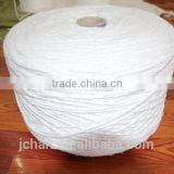 bleach color Recycled cotton yarn