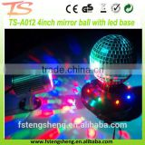 Party and Stage decoration electric rotating mirror ball, led light disco ball                                                                                                         Supplier's Choice