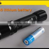 Rechargeable 3w 240lm CREE XPE led long range torch rechargeable led light torch