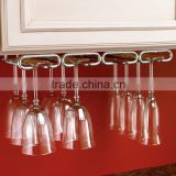 Best decorative hanging wine glass rack for kitchen