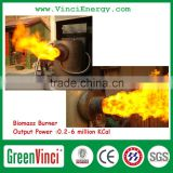 High efficiency Biomass wood pellet burner replace diesel / oil on sale