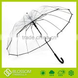 21''x14k EVA Clear umbrella,fashion bubble umbrella,Clear bubble umbrella