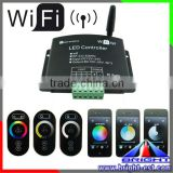DC12V DC24V Single-color WW/W RGB Wifi LED Dimmer,Wifi LED Smart Controller,RGB Remote Wifi Controller